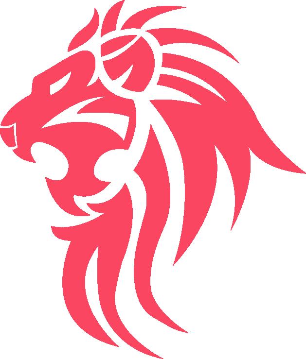 Logo rouge Lion Académie PAF